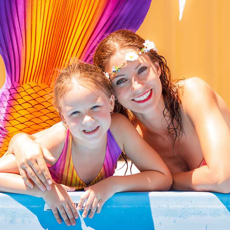 Mermaid courses for children and adults - Become a mermaid at Mermaid Kat Academy